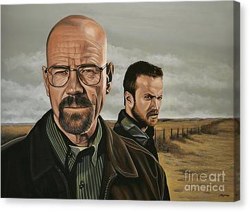 Breaking Bad Canvas Print by Paul Meijering