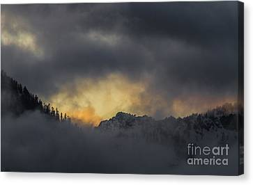 Breaking Storm Canvas Print by Mitch Shindelbower