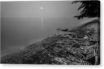 Canvas Print - Breakwater by Mario Legaspi