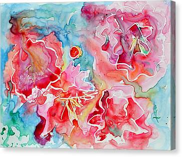 Breathe Canvas Print by Beverley Harper Tinsley