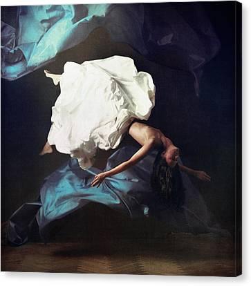 Breathe In Breathe Out Canvas Print by Anka Zhuravleva