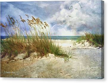 Canvas Print featuring the photograph Breathe by Linda Blair
