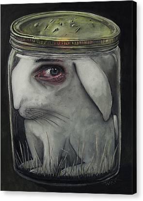 Breathing Canvas Print - Breathing Holes by Joe Turk