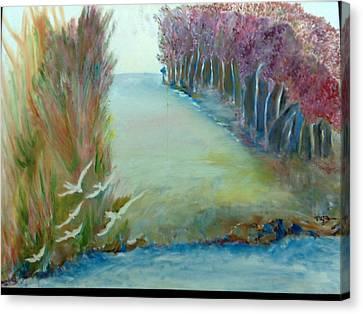 Breathing Zone Canvas Print