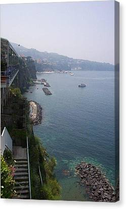 Breathtaking Amalfi Coast In Italy Canvas Print