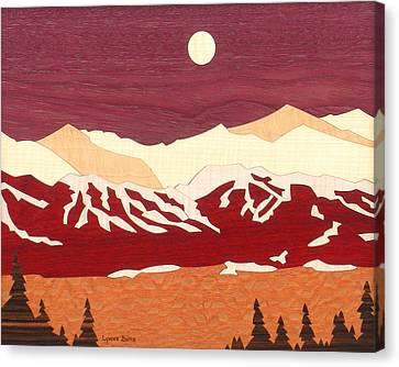 Breckenridge Canvas Print by Lynne Buss