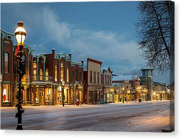 Breckenridge Main Street Canvas Print