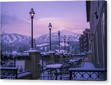 Breckenridge Village Canvas Print