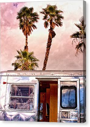 Breezy Palm Springs Canvas Print by William Dey
