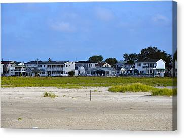 Breezy Point As Seen From Beach August 2012 Canvas Print