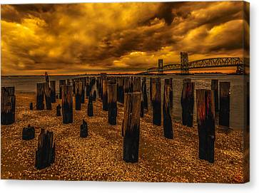 Breezy Point Sunset Canvas Print