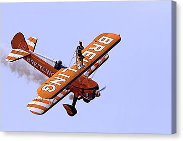 Breitling Wingwalker Canvas Print