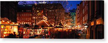 Festivities Canvas Print - Bremen, Germany by Panoramic Images