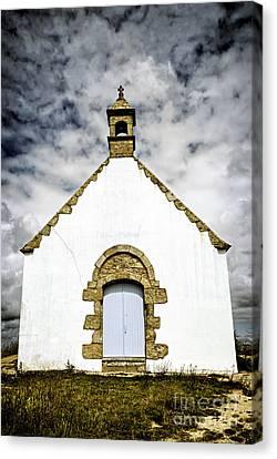 Breton Church Canvas Print by Elena Elisseeva