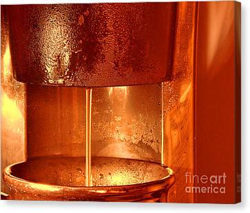 Brew Canvas Print by Olivier Le Queinec