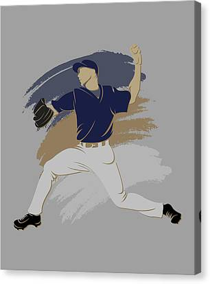 Brewers Shadow Player Canvas Print