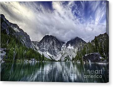 Brewing Storm Canvas Print by Whidbey Island Photography
