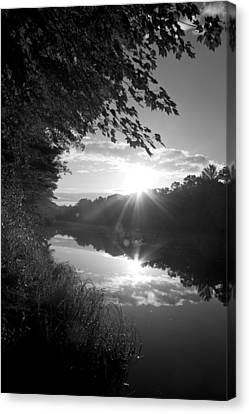 Brf River Canvas Print