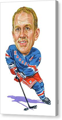 Brian Leetch Canvas Print