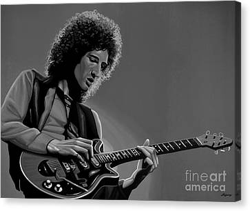 Brian May Of Queen Canvas Print