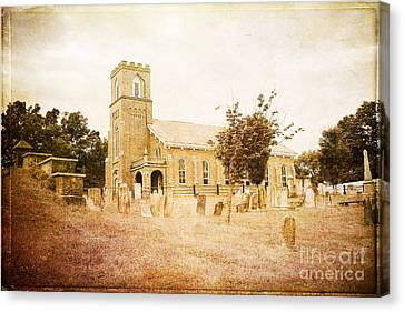 Brick Church In Montgomery Canvas Print