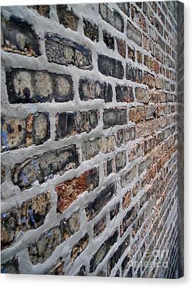 Brick Pattern-2 Canvas Print by Gene Mark