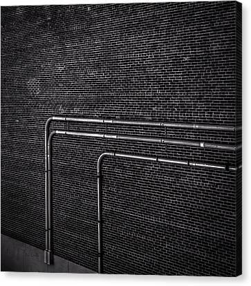 Brick Wall Canvas Print by Bob Orsillo