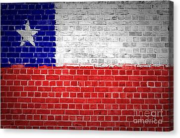 Brick Wall Chile Canvas Print by Antony McAulay