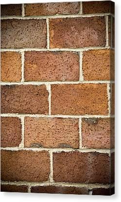 Brick Wall Canvas Print by Frank Tschakert