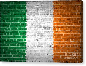 Brick Wall Ireland Canvas Print by Antony McAulay
