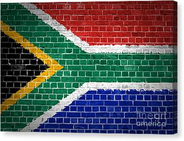 Brick Wall South Africa Canvas Print