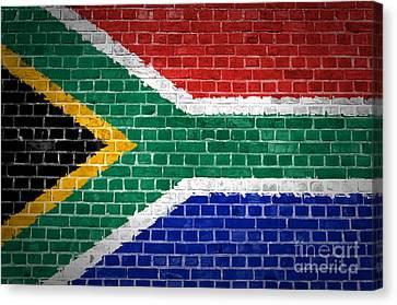 Brick Wall South Africa Canvas Print by Antony McAulay