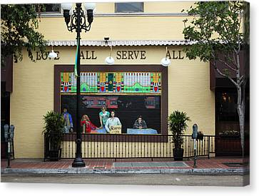 Brick Window Canvas Print by Joe Darin
