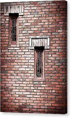 Brick Work Canvas Print by Melanie Lankford Photography