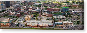 Bricktown Ballpark A Canvas Print by Cooper Ross
