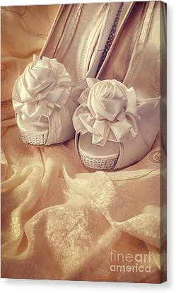 Bridal Sandals Canvas Print