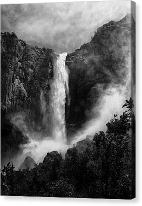 Bridalveil Falls Canvas Print by Cat Connor