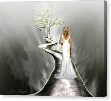 Bride Of Christ Canvas Print