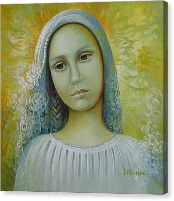 Bride To Anyone Canvas Print by Elena Oleniuc
