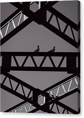 Bridge Abstract Canvas Print