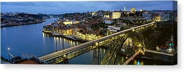 Long Street Canvas Print - Bridge Across A River, Dom Luis I by Panoramic Images