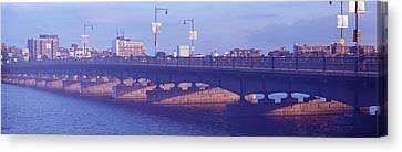 Bridge Across A River, Longfellow Canvas Print