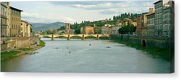 Bridge Across A River, Ponte Alle Canvas Print