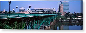 Bridge Across River, Gay Street Bridge Canvas Print by Panoramic Images