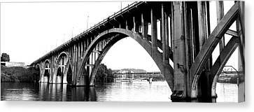 Bridge Across River, Henley Street Canvas Print by Panoramic Images