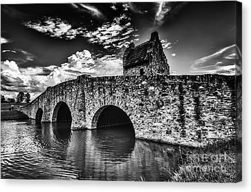 Bridge At Alabama Shakespeare Festival Canvas Print by Danny Hooks