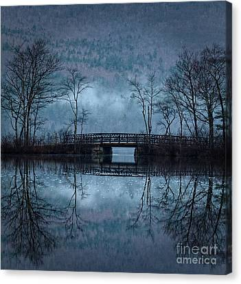 Bridge At Chocorua Canvas Print