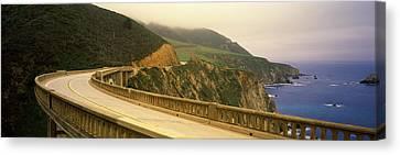 Bridge At The Coast, Bixby Bridge, Big Canvas Print