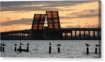 Bridge Closed To Traffic  Canvas Print by Marcus Mapp Sr