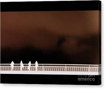 Bridge Inversion Canvas Print by A K Dayton